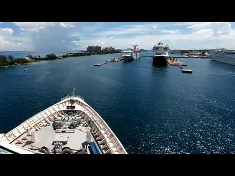Majesty of the Seas Docking in Nassau