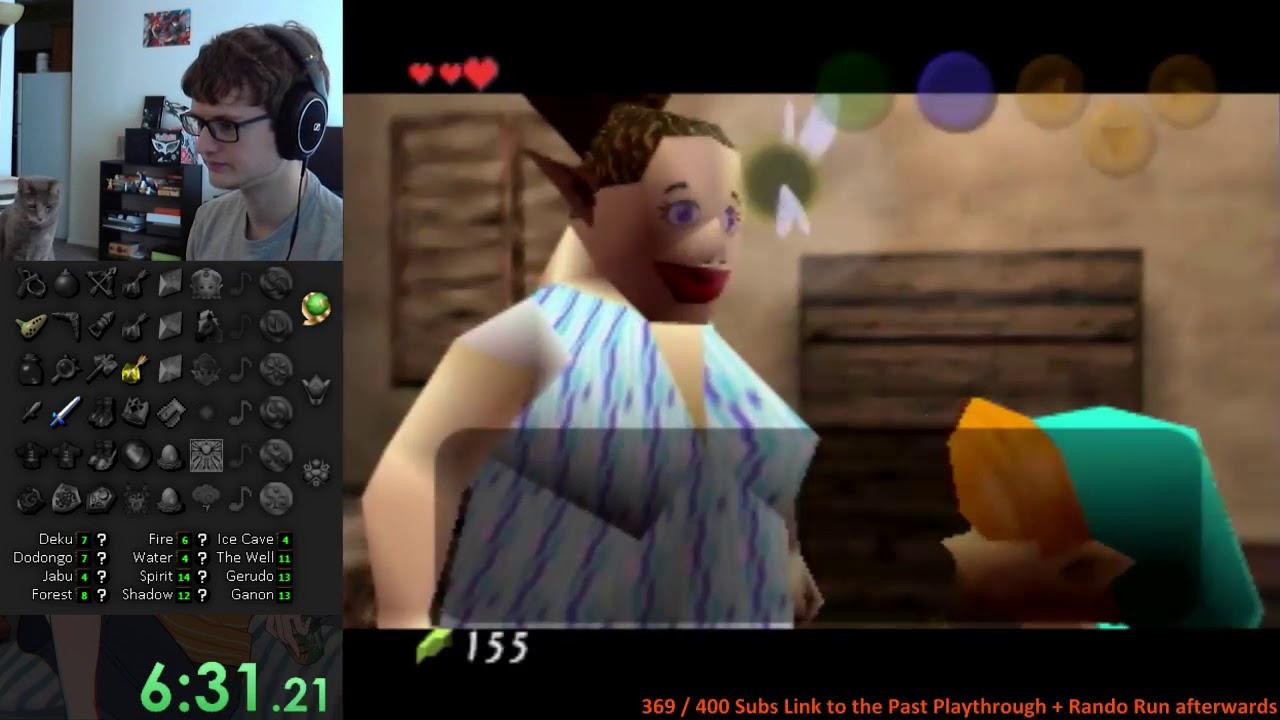 Zelda: OoT Randomizer Run w/ Commentary #2