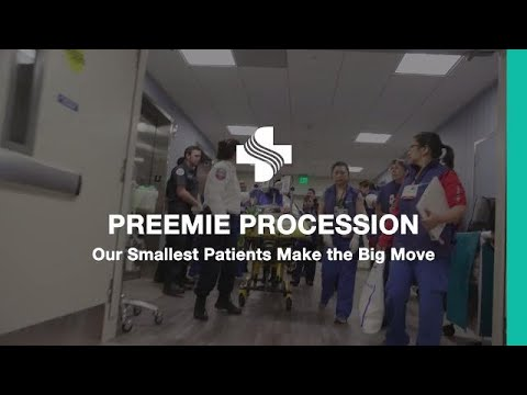 Preemie Procession | First Twins Transferred to NICU at CPMC Van Ness  Campus Hospital