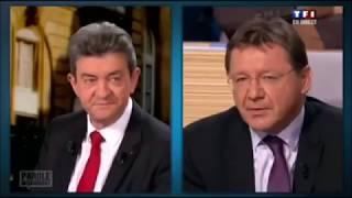 Jean-Luc Mélenchon fait rire tout le plateau de TF1, sur une question économique !