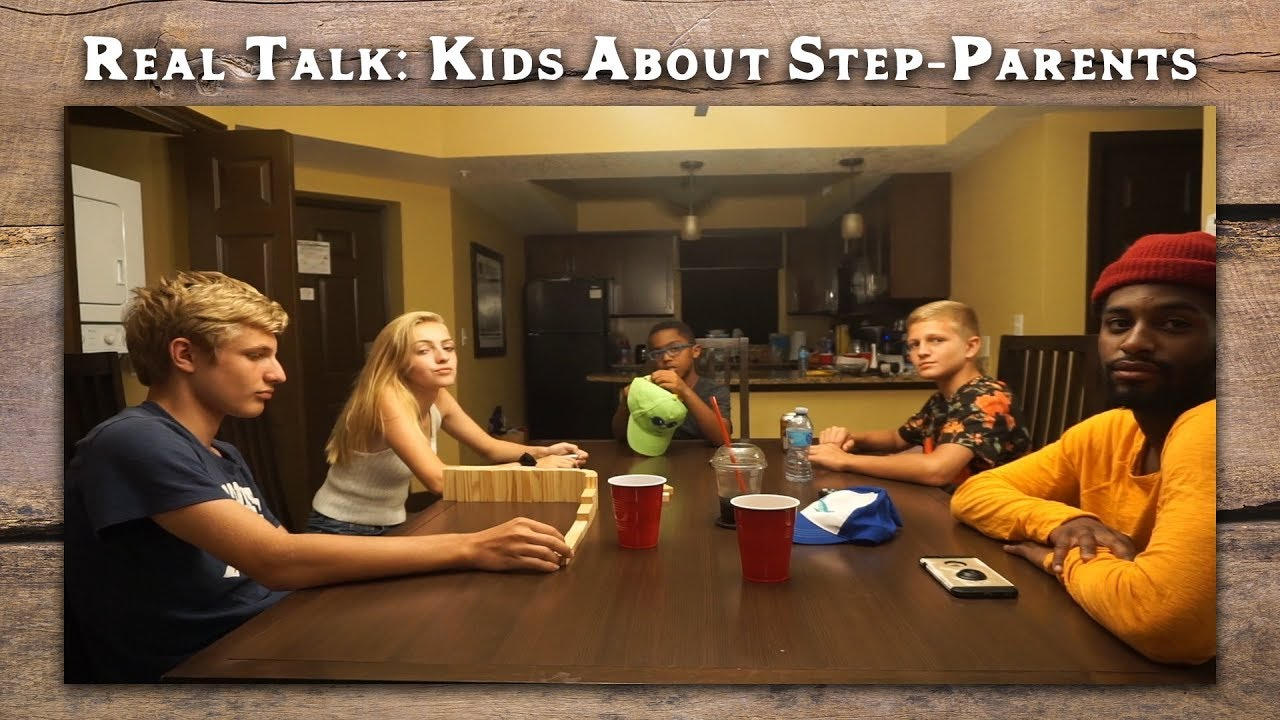Real Parents Real Talk About Kids And >> Kids Real Talk About Their Step Parents Youtube