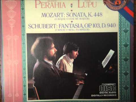 Radu Lupu , Murray Perahia 4 Hands Schubert Fantasy F Minor Part 2