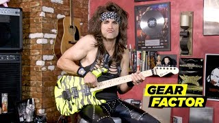 Steel Panther's Satchel Plays His Favorite Riffs + Solos