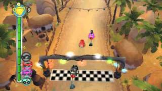 (PSP)TNT Racers Gameplay