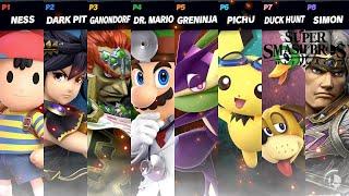 Super Smash Bros Ultimate 8 Player Smash Worst Stage Morph!
