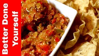 My Recipe for a Fermented Probiotic Salsa Dip - ALL vegetables!