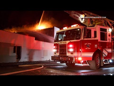 Water St. 2nd Alarm Fire (West Haven, CT) 2/17/19