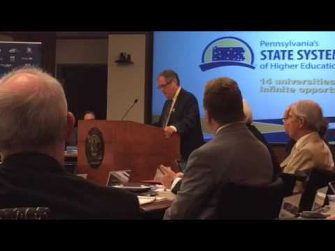 APSCUF President Ken Mash speaks out against what he believes is anti-union sentiment