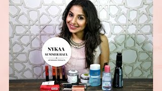 Nykaa Summer Haul | Affordable Makeup & Skincare | Akriti Sachdev