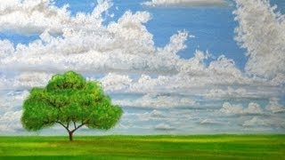 landscape draw sky clouds pastels cloudy