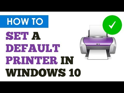 How To Easily Set A Default Printer In Windows 10