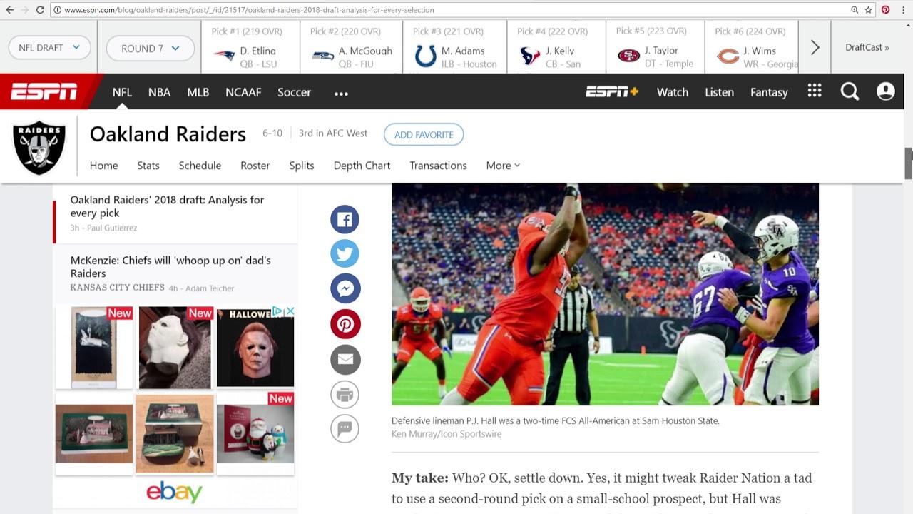 Oakland Raiders NFL Draft Day 3 Recap - YouTube 72cf67fd6d