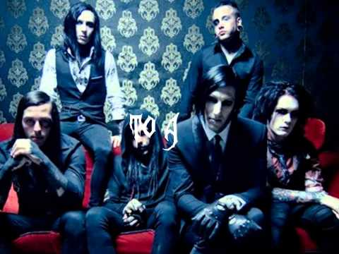 Motionless in White-The Divine Infection with Lyrics On Screen