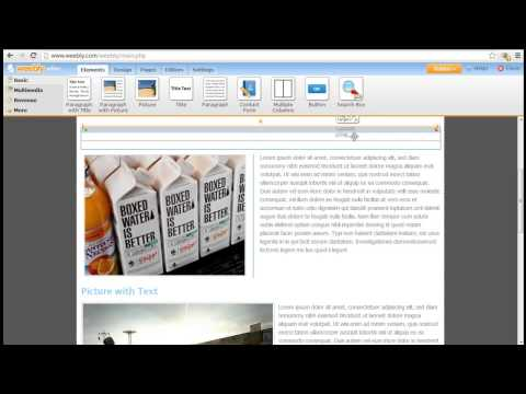 How to Use Weebly Elements (Contact Form, Custom HTML, Search Box) to Build Websites