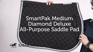 SmartPak Medium Diamond Deluxe All Purpose Saddle Pad Review