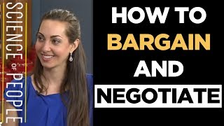 How to Bargain and Negotiate