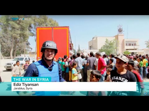 The War In Syria: TRT World's Ediz Tiyansan Reports From Liberated Jarablus