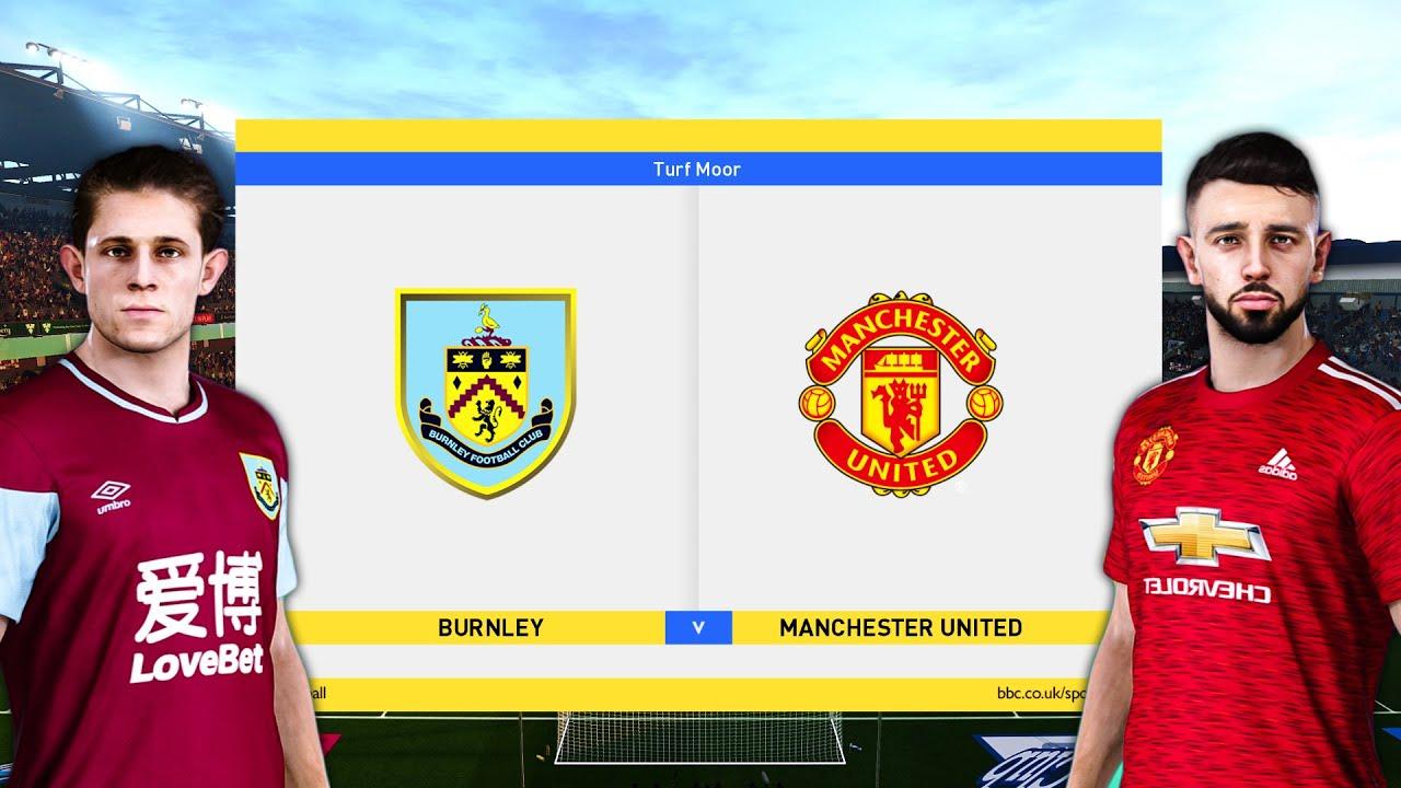 Burnley vs Manchester United - Premier League 2020/21 Prediction - YouTube
