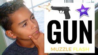 How To Make A Gunshot Effect On iMovie September 2016
