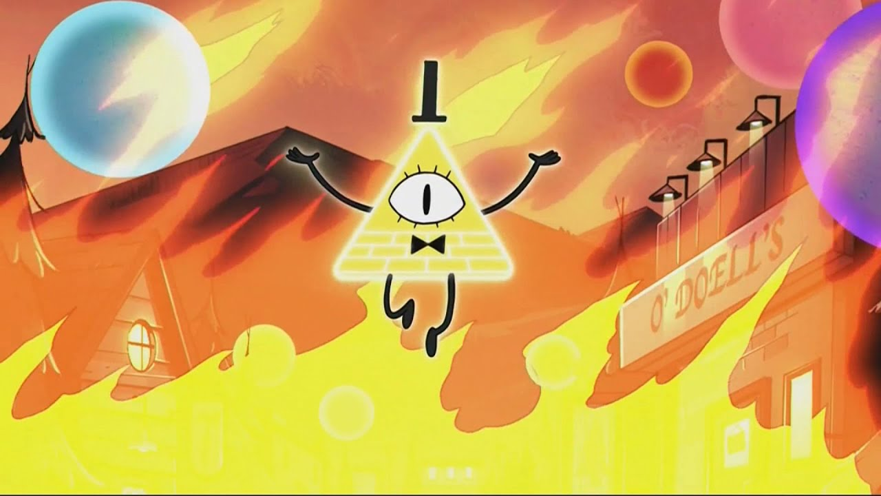 Gravity Falls Bill Cipher Wallpaper Hd Gravity Falls On Crack 2 Youtube
