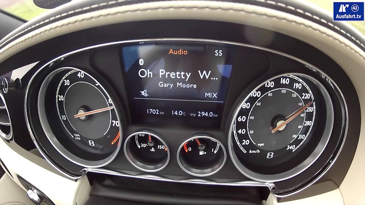 2013 Bentley Continental Gtc W12 0 250 Kmh 0 180 Mph Youtube