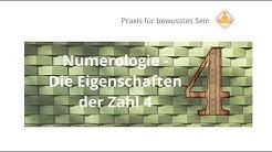 Numerologie - Die Eigenschaften der Zahl 4