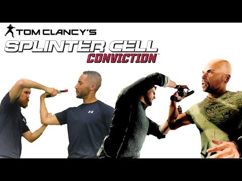 SAM FISHER Fighting Style | Splinter Cell Conviction Fight Scene