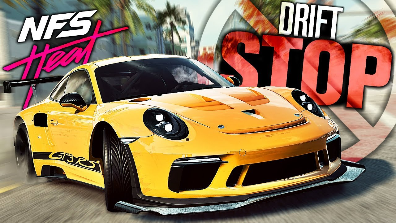 Need For Speed Heat Stop Using Drift Parts How To Drift Youtube