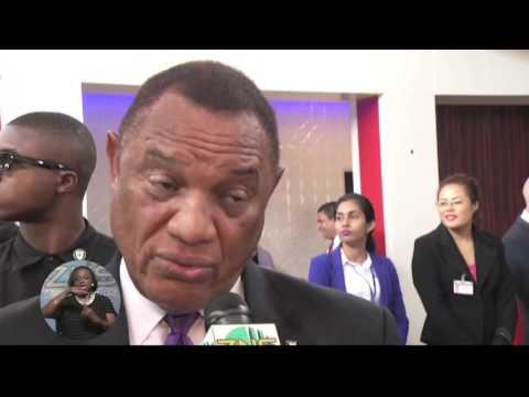 BAHAMAS AT CARICOM HEADS OF GOVT MEETING