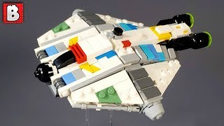 LEGO Star Wars The Ghost! Micro Scale Custom Build
