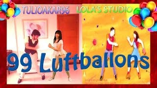 JUST DANCE 2014-99 LUFTBALLONS COLLABORATION WITH TULIOAKAR96 FULL GAMEPLAY