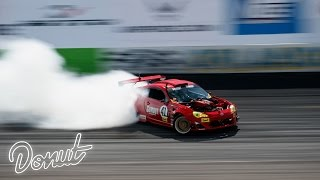 "Ferrari powered Toyota ""GT4586"" at Formula Drift Orlando w/ Ryan Tuerck  