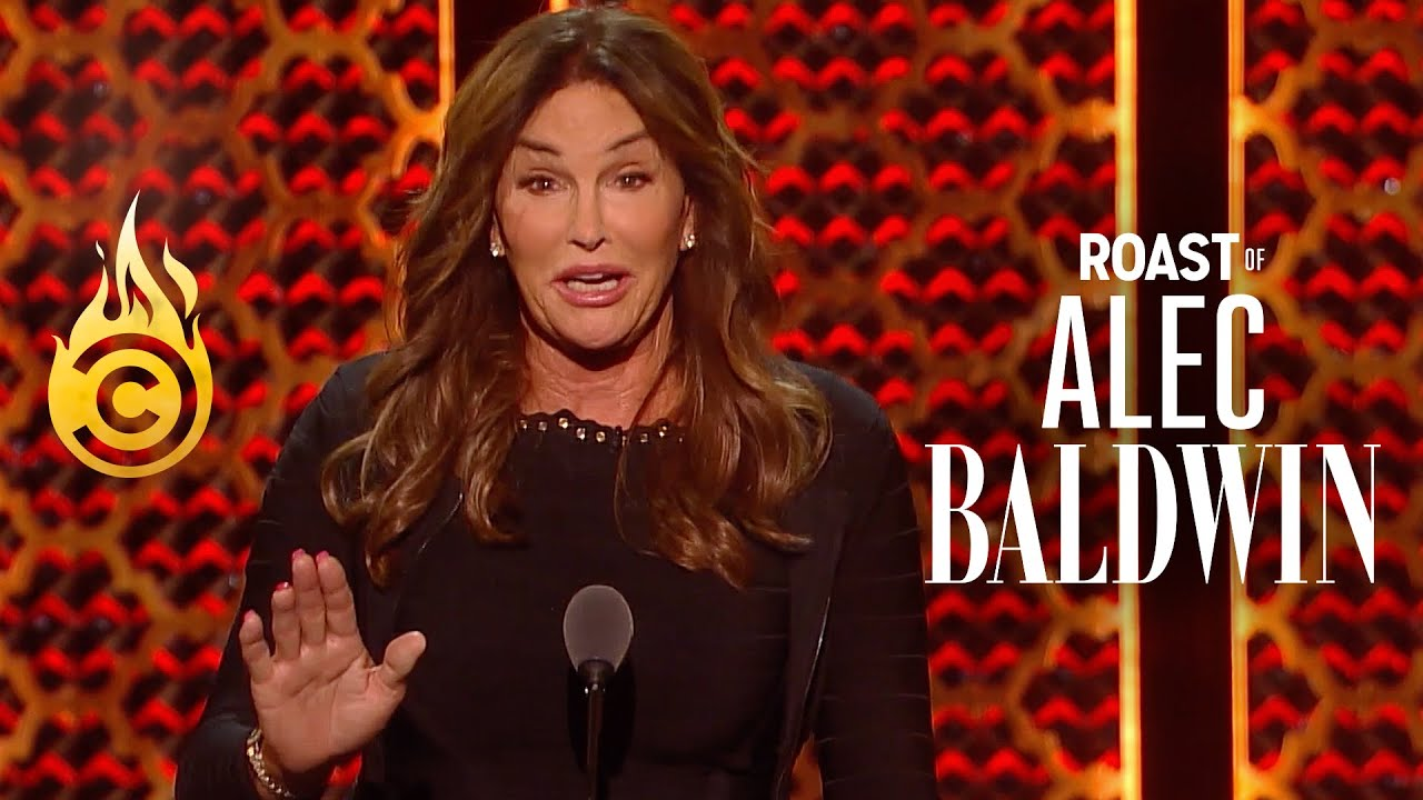 Caitlyn Jenner Responds to Jokes About Her Transition - Roast of Alec Baldwin