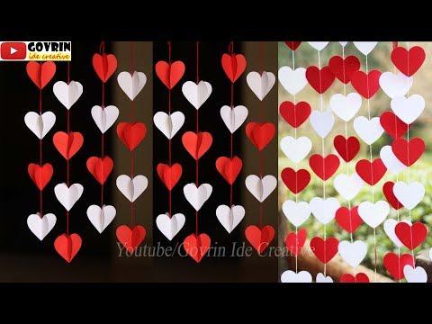 Ide Kreatif Membuat Hiasan Dinding LOVE dari Kertas Origami - Hiasan 17 Agustus   Wall Decor Ideas