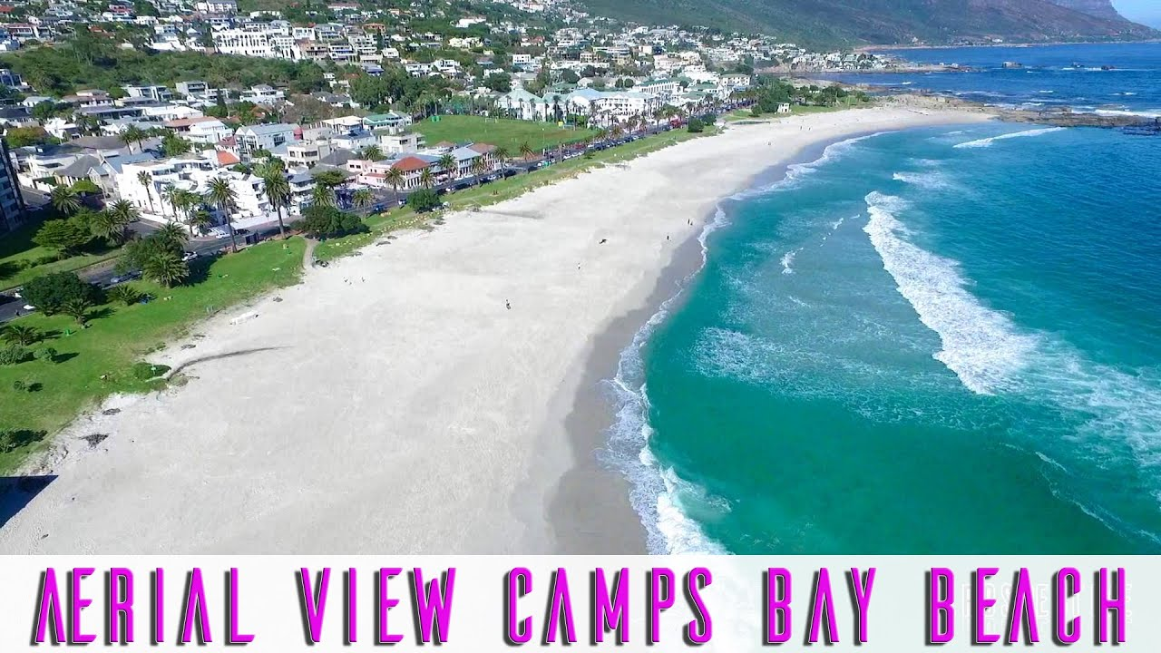 Camps Bay Cape Town An Aerial View