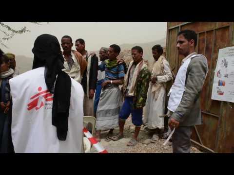 MSF Team Tackles Cholera Outbreak in Yemen