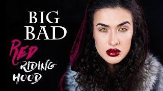 BIG BAD Red Riding Hood | Макияж на Хэллоуин 2017