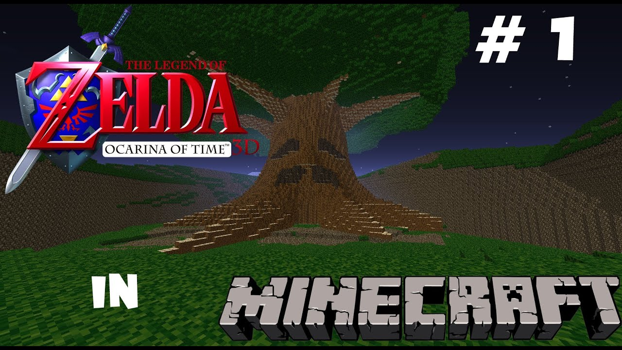 The Legend of Zelda: Ocarina of Time Minecraft Map: Update #1 - YouTube