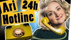 Live-Challenge: 24 Stunden Ari-Hotline – Nimm alle Anrufe an || Das schaffst du nie!