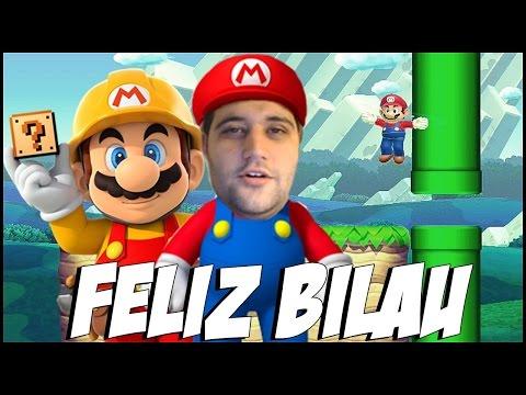 Super Mario Maker - FELIZ BILAU PRA TODO MUNDO