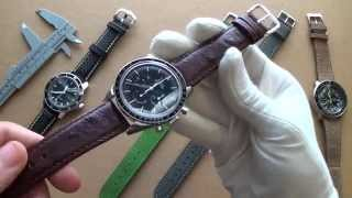 Talking Watch Straps Pt.2 - Best Buys For Fall 2015, Speedmaster, Hamilton, Squale, Seiko & Sinn