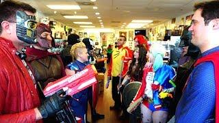 Marvel VS DC Nerf War! Ft. Harley Quinn Batman Real Life Superhero Movie - MELF