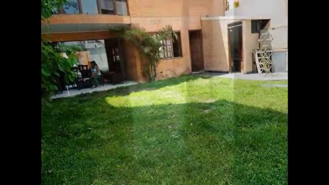 Casa jardin alquilo en san miguel youtube for Jardines para casas