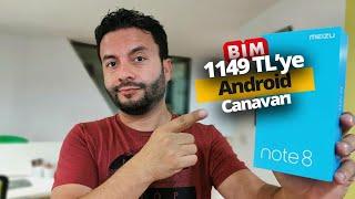 BİM'DE 1.149 TL'YE SATILAN TELEFONU ALDIK! Meizu Note 8 inceleme
