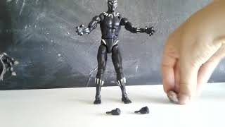 Unboxing and review black panther action figure