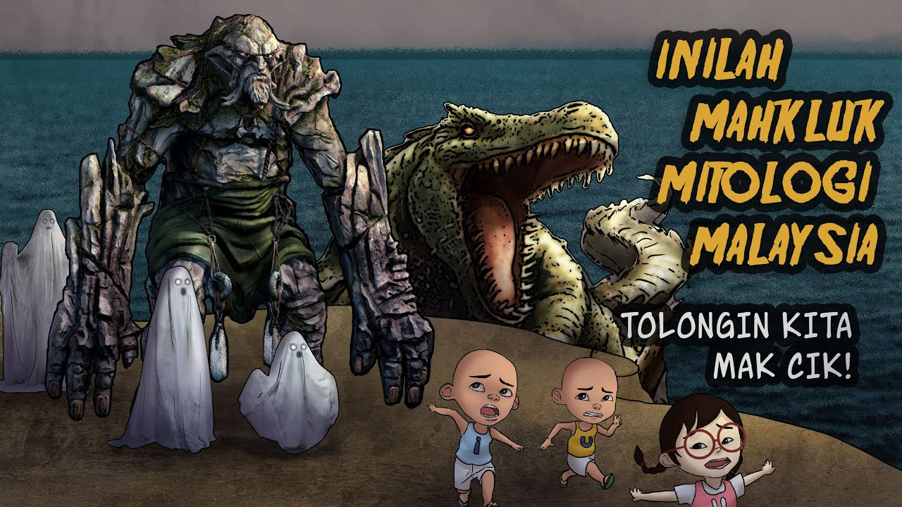 5 Makhluk Mitologi Malaysia! Seramnyaa! Semoga gak muncul lagi #HORORTIME