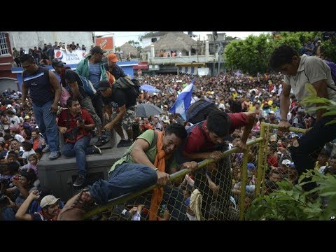 WHO IS BEHIND THE MIGRANT CARAVAN? WHAT IS THEIR AGENDA? POTENTIAL BIOWEAPON RELEASE?
