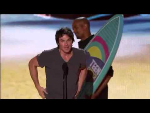Ian Somerhalder Choice Male Hottie 2012 TCAs