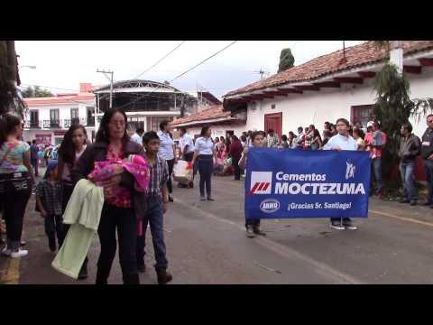Desfile 25 de Julio 2015 Ario de Rosales - Parte 1