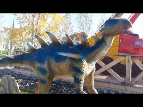 Dinosaurs in the city of Kirov film12